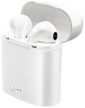 ZAUKY TWNS-8 In-Ear Bluetooth Headset ( White )