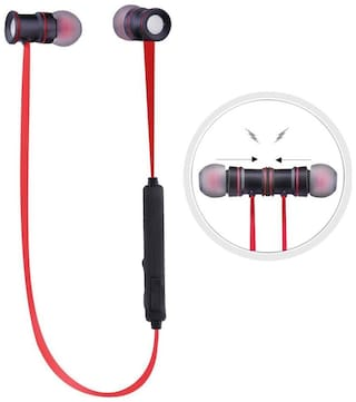 ZAUKY M-547 In-Ear Bluetooth Headset ( Red )