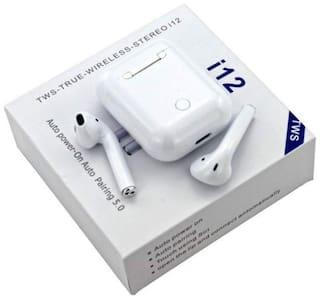 ZAUKY i12-010 True Wireless Bluetooth Headset ( White )