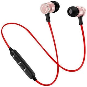 ZAUKY M-556 In-Ear Bluetooth Headset ( Red )