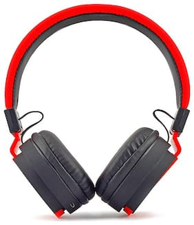 Zebronics AIRONE Headphones (Red)