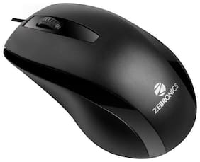 Zebronics Alex Mouse Wired Mouse ( Black )