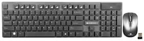 Zebronics Companion#102 Wireless Keyboard & Mouse Set ( Black )