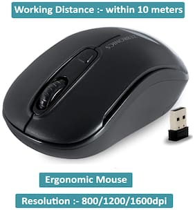 Zebronics Dash Wireless Mouse ( Black )
