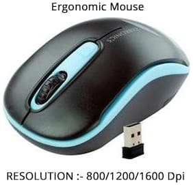 Zebronics Dash Wireless Mouse (Assorted)
