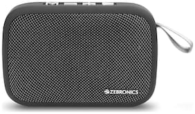 Zebronics DELIGHT Portable Bluetooth Speaker ( Grey )