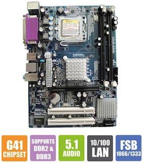 Zebronics (G41 775/ATX/Intel G41 + ICH8) Mother Board