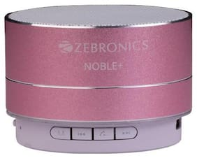 Zebronics NOBLE PLUS - PINK Portable Bluetooth Speaker ( Pink )