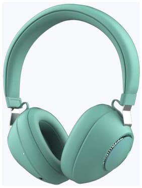 Zebronics On-Ear Bluetooth Headset ( Green )
