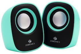 Zebronics ZEB-PEBBLE NEW Wired 2.0 Speaker ( Green )