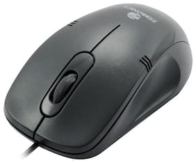 Zebronics Power Plus Wired Mouse ( Black )