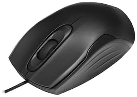 Zebronics Zb-DLM10 Wired Mouse ( Black )