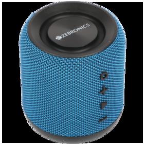Zebronics ZEB-MUSIC BOMB Bluetooth Portable speaker ( Blue )