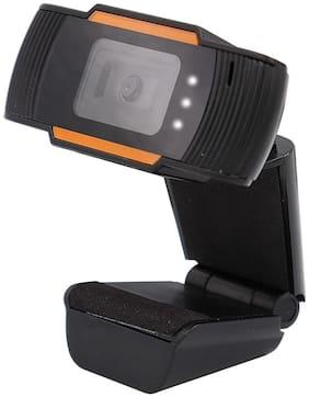 Zebronics Zeb-Crisp Pro Webcam  (Black  Orange)