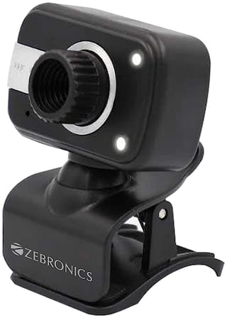 Zebronics Zeb-Crystal Clear Web Camera