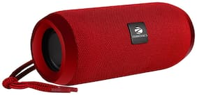 Zebronics ZEB-ACTION Wired & Bluetooth Portable Speaker ( Red )