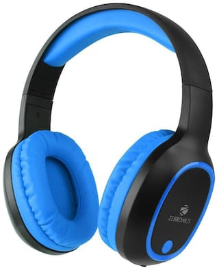 Zebronics Zeb-Thunder On-Ear Bluetooth Headset ( Blue & Black )
