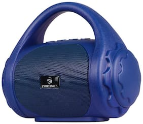 Zebronics ZEB-COUNTY Wired & Bluetooth Portable Speaker ( Blue )