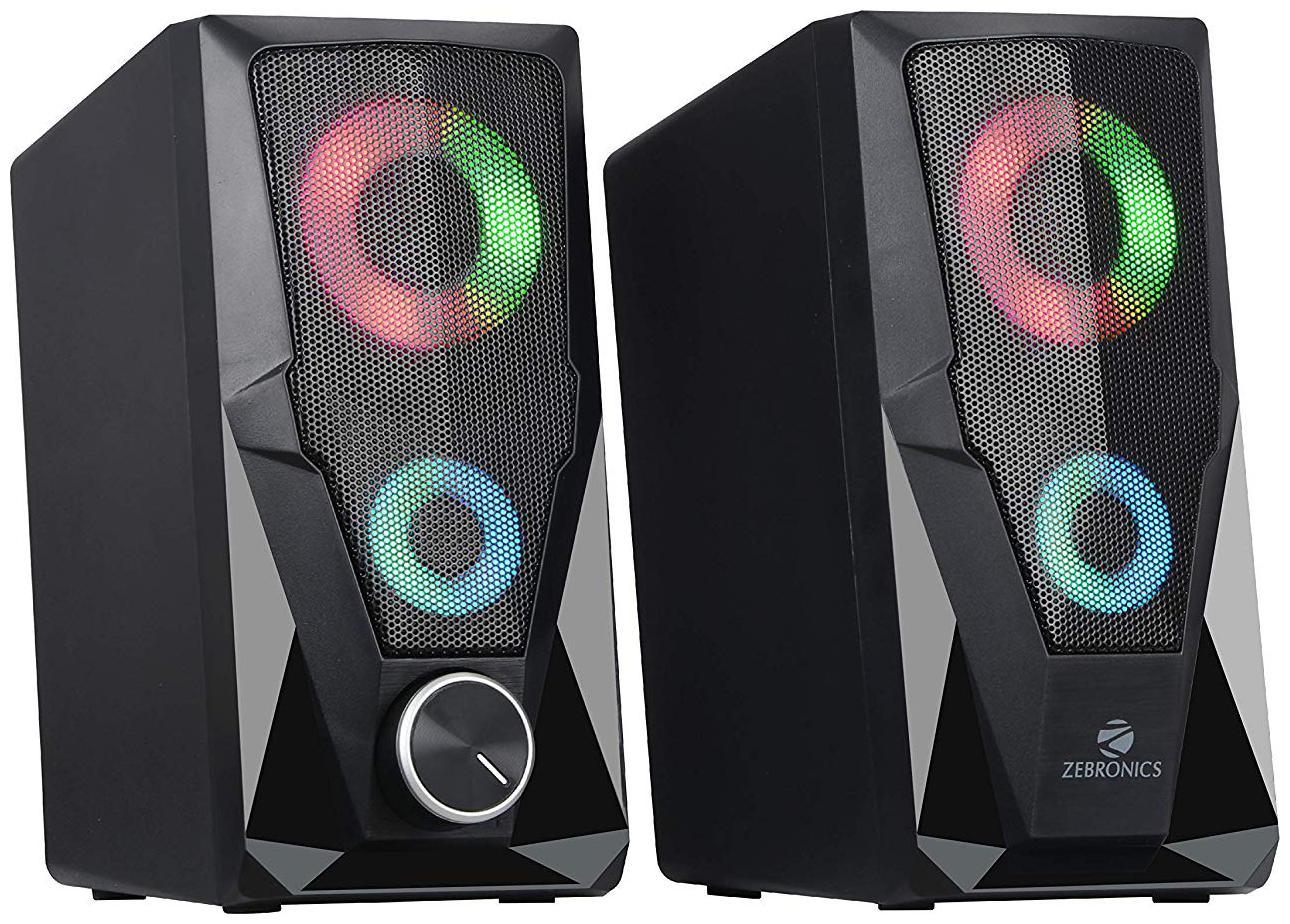 Zebronics ZEB WARRIOR Wired 2.0 speakers   Black