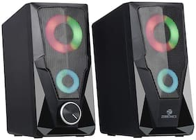 Zebronics ZEB-WARRIOR Wired 2.0 Speaker ( Black )