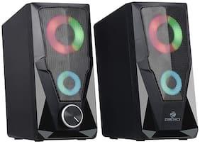Zebronics ZEB-WARRIOR Wired 2.0 Speaker ( Black )