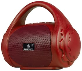 Zebronics ZEB-COUNTY Wired & Bluetooth Portable Speaker ( Red )
