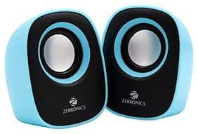 Zebronics ZEB - PEBBLE NEW Wired 2.0 Speaker ( Blue )
