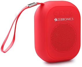 Zebronics ZEB-SAGA Bluetooth Portable Speaker ( Red )