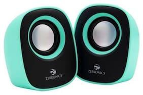 Zebronics ZEB - PEBBLE NEW Wired 2.0 Speaker ( Green )