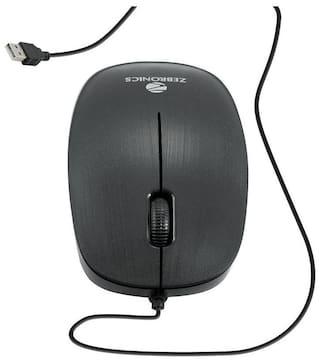 Zebronics Zeb-Power Wired Mouse ( Black )
