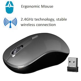Zebronics Zoom Wireless Mouse ( Black )
