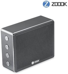 Zoook ZB Rocker Chrome Bluetooth Speaker  Grey