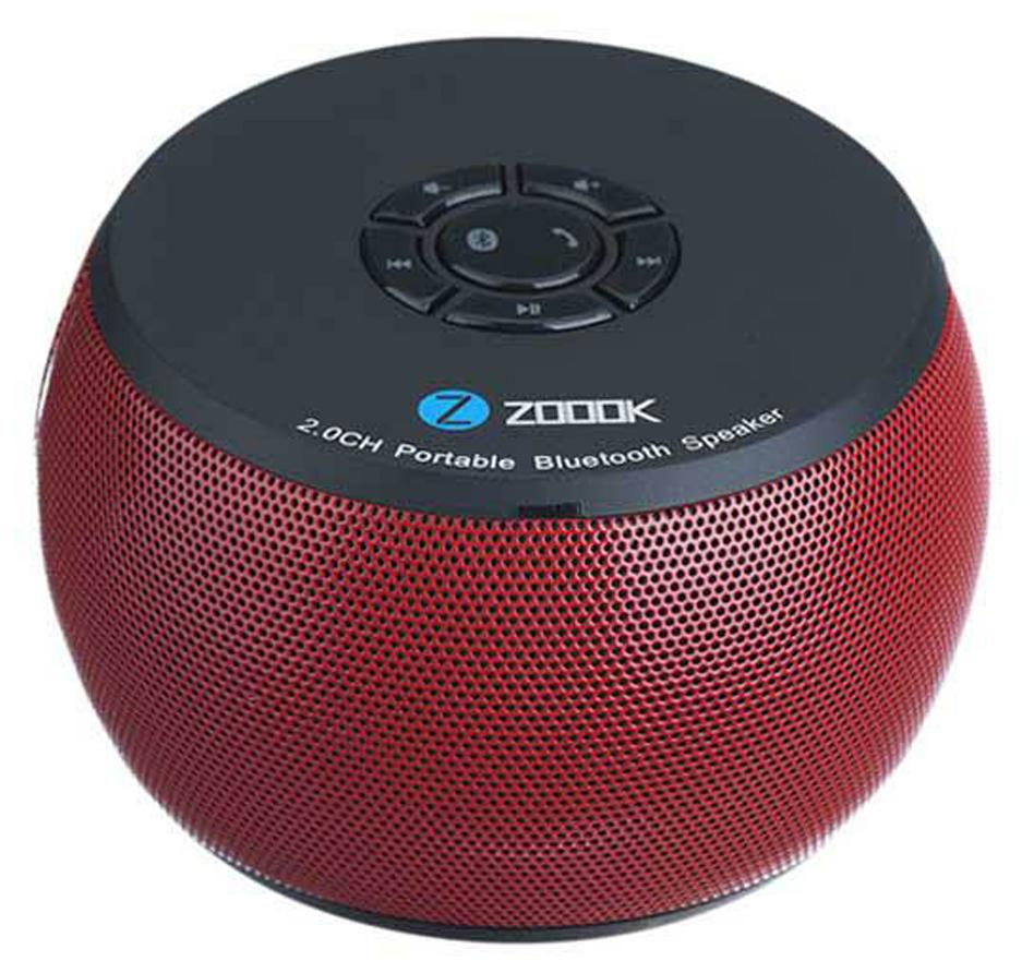 Zoook ZB-BS100R Bluetooth Speaker