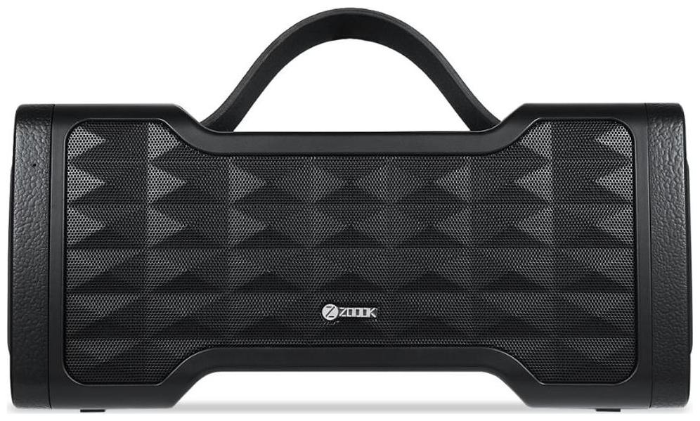 Zoook Jazz Blaster Water Resistant and handsfree calling Portable Waterproof Outdoor Wireless Bluetooth Speaker with subwoofer Black Rich Bass IPX5 30 Watts of Power