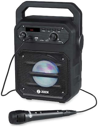 Zoook Zb-Rocker Thunder 20W Bluetooth Speaker with Karaoke Mic - Black