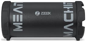 Zoook ZB-Rocker M2 - Mean Machine 5 in 1 (BT+ SD card + USB + FM + Aux) Bluetooth Speaker (Black)
