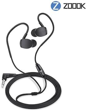 Zoook ZM-Jazz X1 In-Ear Wired Headphone ( Black )