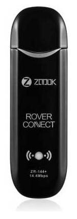 Zoook ZR-144+ 14.4 mbps Data Card With Hotspot (Black)