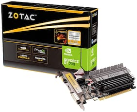 ZOTAC GeForce GT 730 4GB ZONE Edition with GeForce Experience