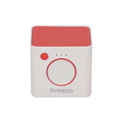 Zydeco Bluetooth Speaker (Red)