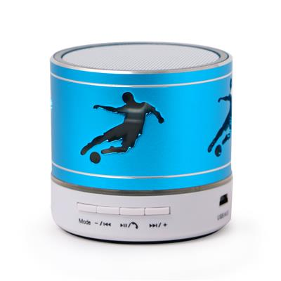 Zydeco Player Bluetooth Speaker (White & Blue)