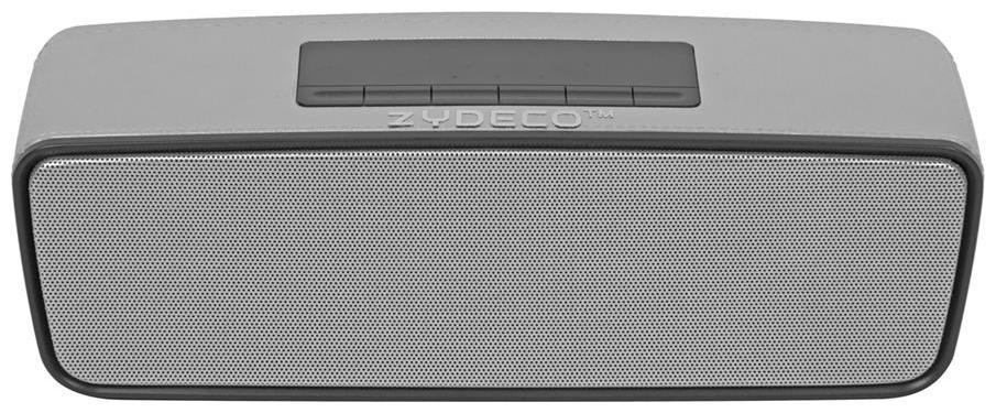 Zydeco S2025 Bluetooth Speaker  Silver