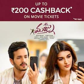 Book Mr. Majnu movie tickets on Paytm & get Cashback* upto Rs 200