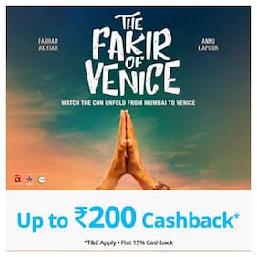 Book The Fakir Of Venice movie tickets on Paytm & get Cashback* upto Rs 200