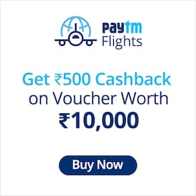 Paytm International Flight Voucher
