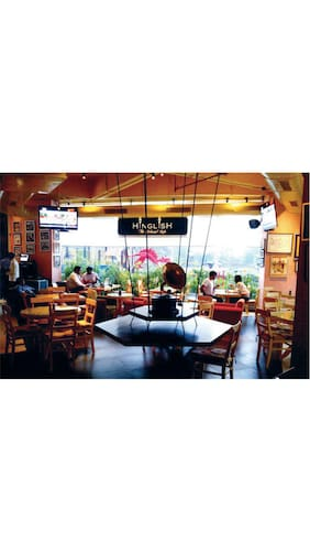 Flat 20% OFF on Total Bill @ Hinglish - Cafe and Beach Bar, Tagore Garden,  Pacific Mall, New Delhi