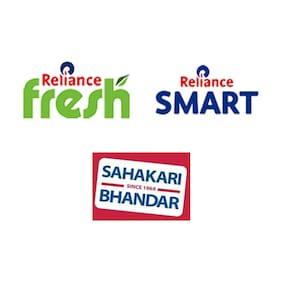 Flat 5% Cashback when you pay using Paytm at Reliance Fresh/Reliance Smart/Sahakari Bhandar