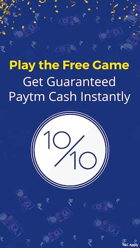 Play for FREE and win Rs.5 Paytm Cash!