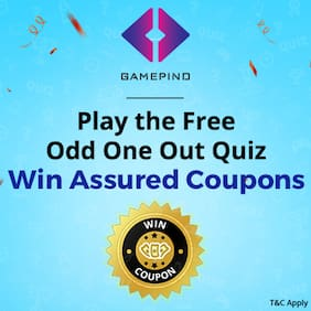 Play Odd One Out Quiz & Win Assured Coupons!