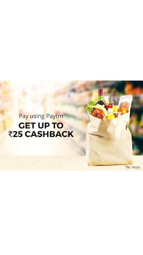 Up to Rs.25 Cashback when you pay using Paytm at Easy Day